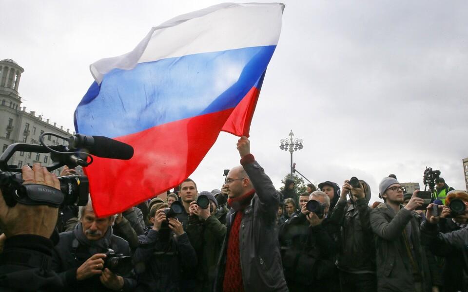 Протесты в поддержку Алексея Навального.