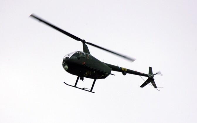 Иллюстративное фото. Вертолет Robinson R44