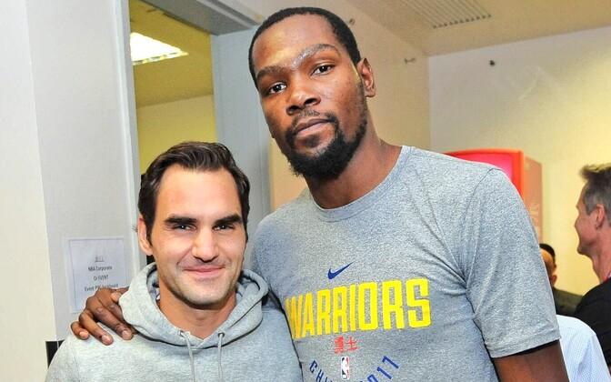 Roger Federer ja Kevin Durant