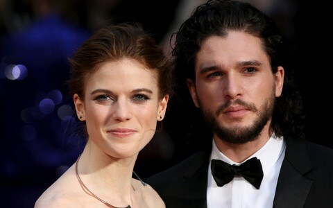 Kit Harington ja Rose Leslie