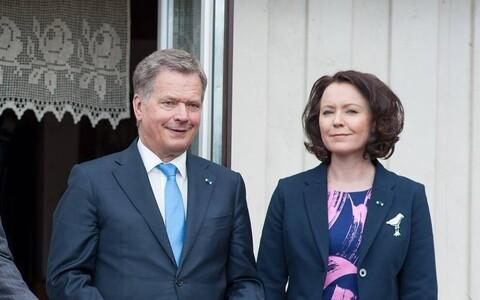Soome presidendi visiit