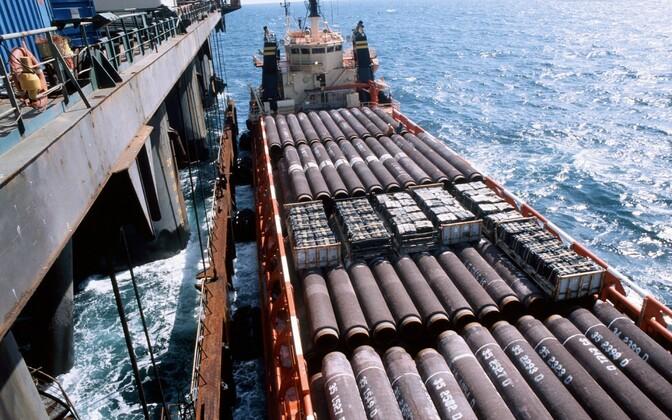 Nord Streami ehitustööd 2009. aastal.