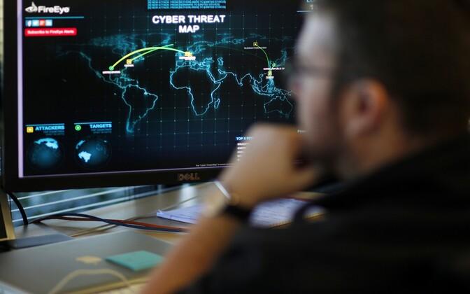 Küberohutuse ohukaart.