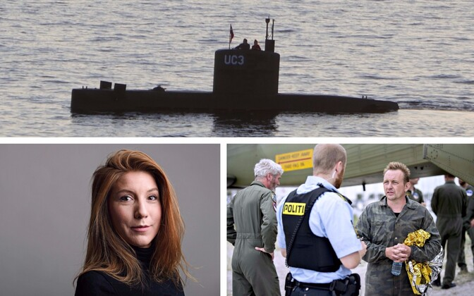 Подводная лодка UC3 Nautilus, Ким Валль и Петер Мадсен.