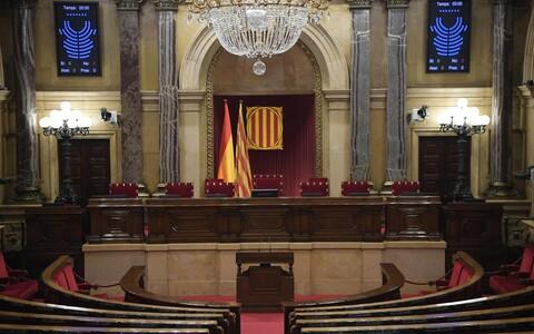 Kataloonia regionaalparlament.
