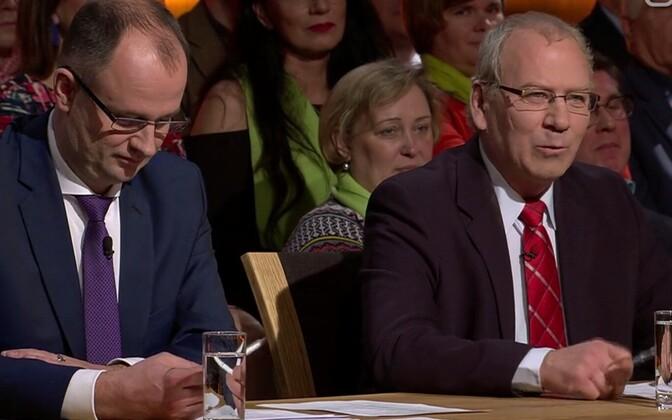 Tartu kandidaatide valimisdebatt ETV-s.