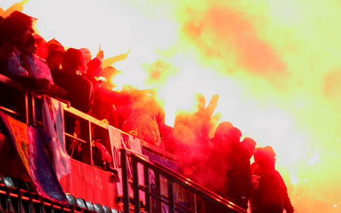 ФИФА снова оштрафовала Федерацию футбола Украины заповедение фанатов