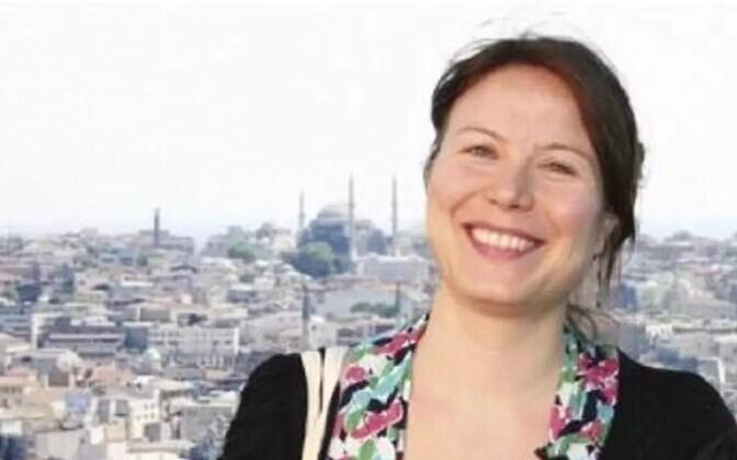 Soome-türgi ajakirjanik Ayla Albayrak, arhiivifoto Yle veebilehelt.