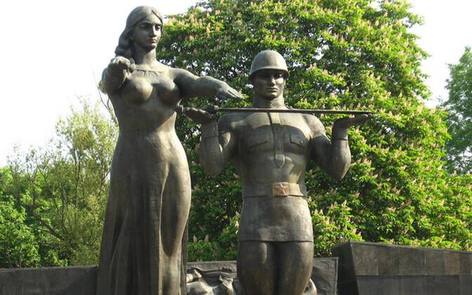 Монумент Славы во Львове.