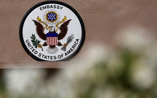 USA suursaatkond Moskvas.