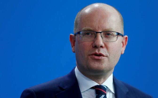 Tšehhi peaminister Bohuslav Sobotka.
