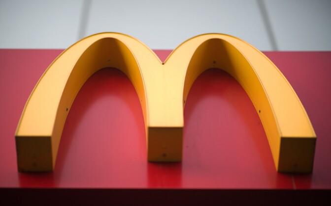 McDonald'si logo.
