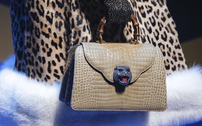 Показ коллекции Gucci в Милане.