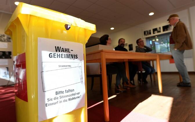 Valimised Alam-Saksi liidumaal 15. oktoobril.