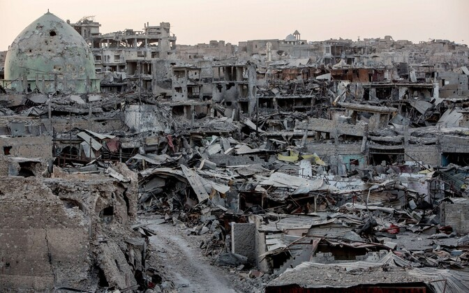 Mosuli vanalinn käesoleva aasta 28. septembril.