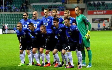 Сборная Эстонии по футболу стала 80-й в мире.