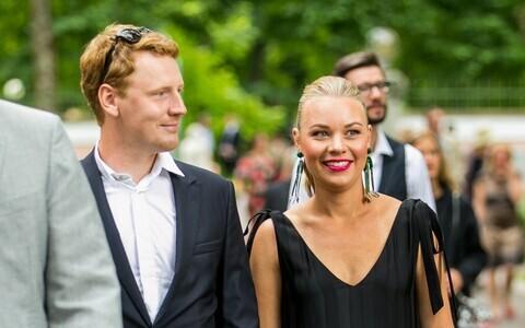 Hendrik Toompere jr ja tema abikaasa Maria Kirss