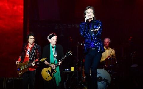 The Rolling Stones Stockholmi kontserdil.