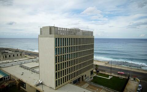 USA saatkond Havannas.