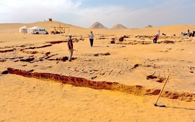 Kairost edelas avastati vaarao Ramses II tempel.