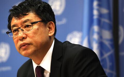 Põhja-Korea asesuursaadik ÜRO-s Kim In Ryong.