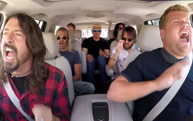 Foo Fighters James Cordeni autokaraokes.