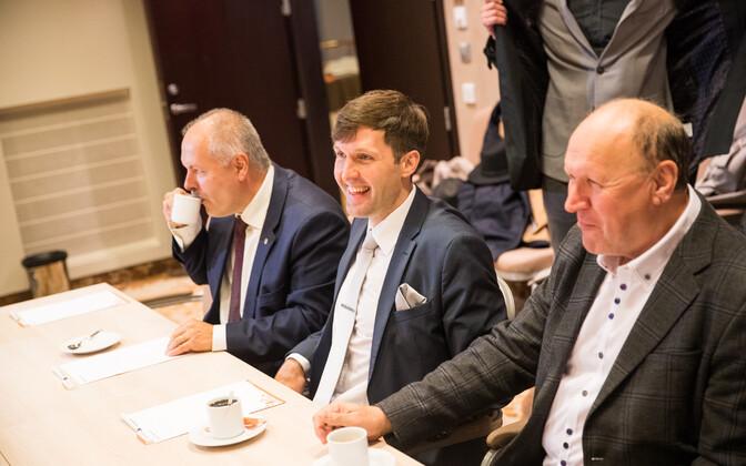 EKRE ja Keskerakonna kohtumine pärast valimisi.