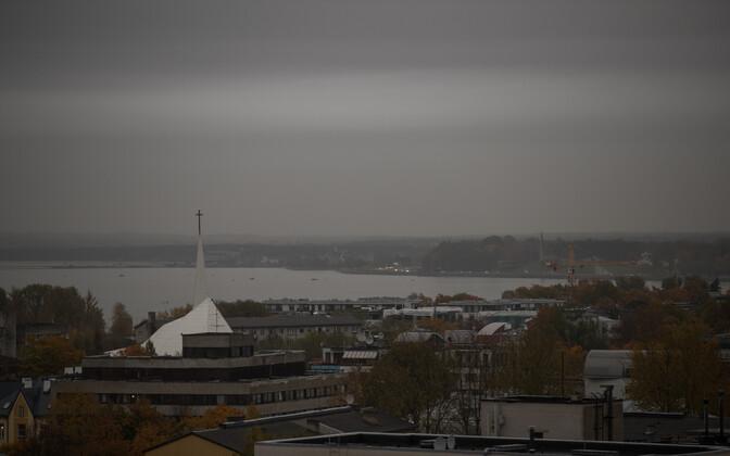 Черный дождь прошел вЭстонии