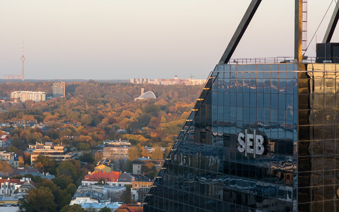 Головной офис SEB в Таллинне.