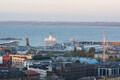 Vaade Tallinna sadamale.