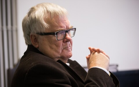 Savisaar in court, Oct. 18, 2017.