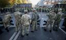 Протестующие перед Верховной Радой в Киеве.