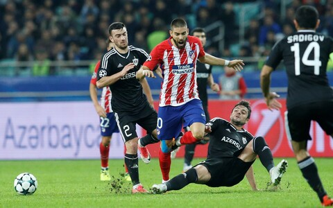 Qarabag - Madridi Atletico