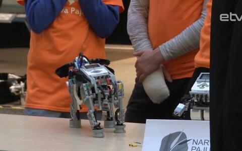 Выставка робототехники в Нарве.