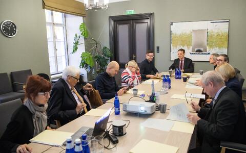 Заседание Комиссии по надзору за финансированием партий.