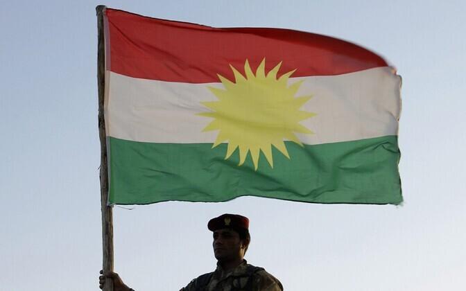 Kurdistani lipp.