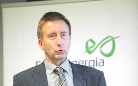 Ürituse moderaator Olavi Tammemäe, Eesti Energia keskkonnajuht