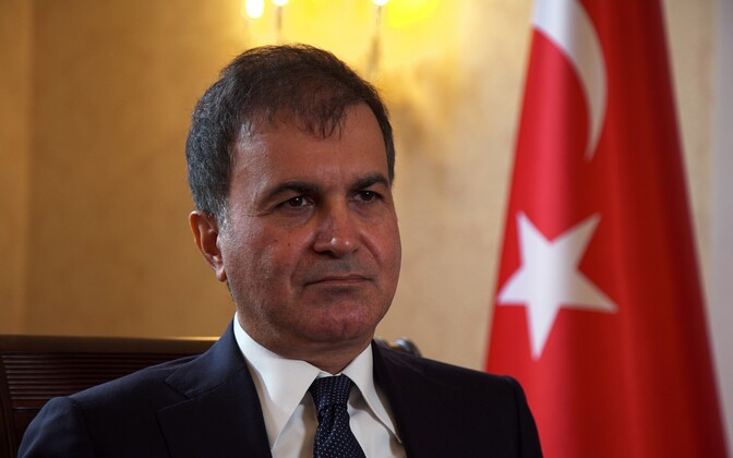 Türgi Euroopa Liidu suhete minister Ömer Çelik.