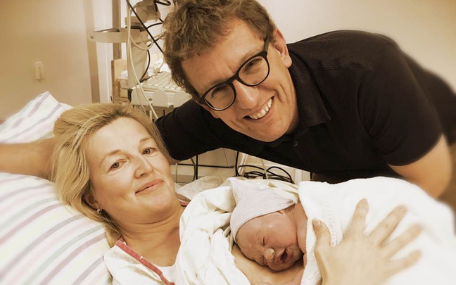 Kristen Michali perre sündis kolmas laps