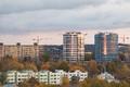 Vaade Tallinna korterelamutele.
