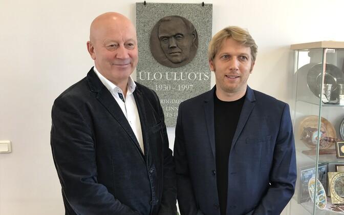Урмас Суклес (слева) и Яанус Карилайд.