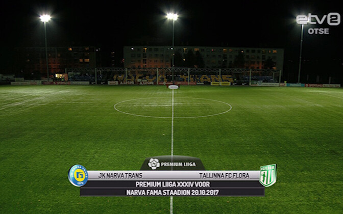 JK Narva Trans - Tallinna FC Flora