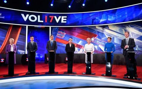 Дебаты кандидатов в президенты Словении
