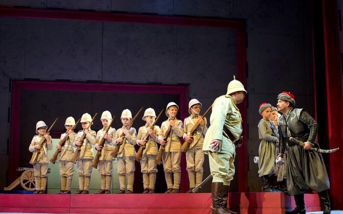 Mati Turi, Rauno Elp ja rahvusooper Estonia poistekoor ooperis
