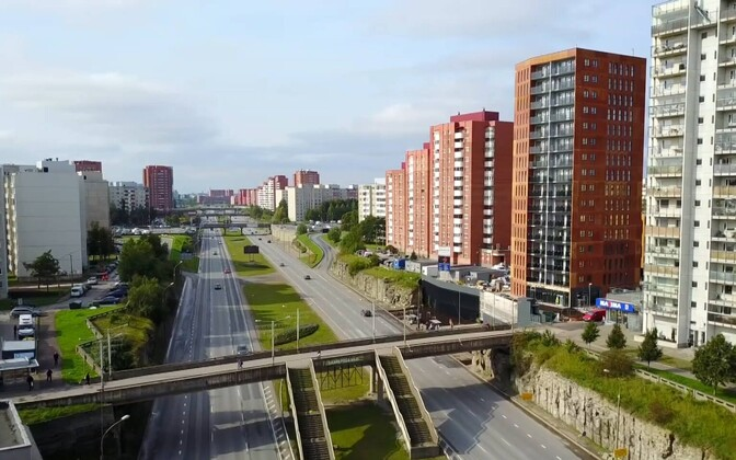 Таллиннский район Ласнамяэ.