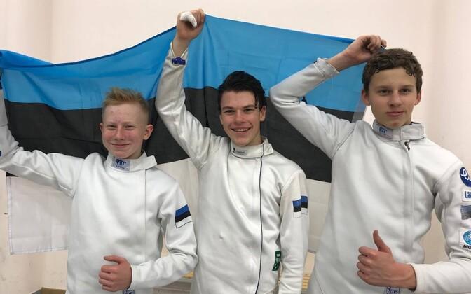 Markus Salm, Jaron Kiiroja, Henrik Priimägi