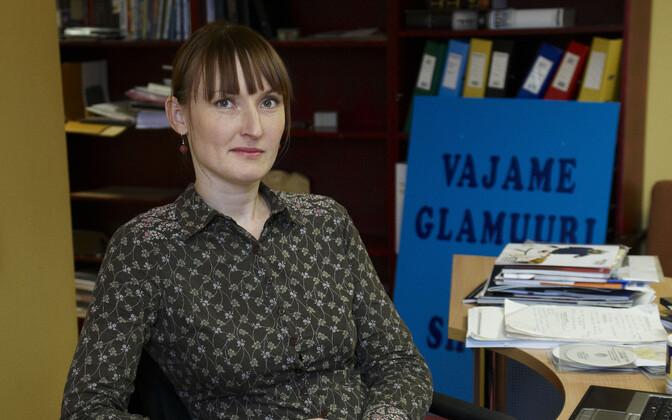 ETV2 peatoimetaja Viola Salu