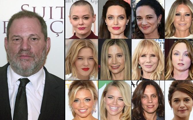 Harvey Weinsteini on süüdistanu dmitmed nimekad näitlejad, nende seas Gwyneth Paltrow, Angelina Jolie, Rose McGowan ja Mira Sorvino