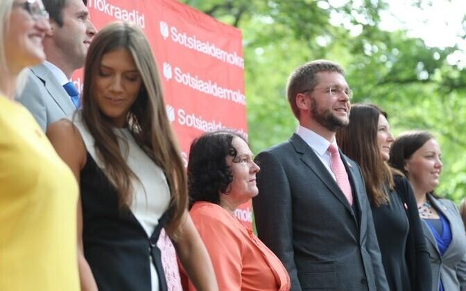 Анастасия Коваленко и Хельви Сяргава (в центре) усилили соцдемов.