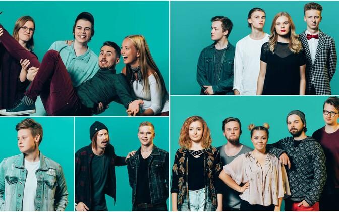 Noortebänd 2017 finalistid